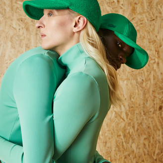 Lacoste Fashion Show Edition Solid Wool Broadcloth Cap