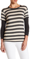 C&C California Soft Striped Twofer-Tee