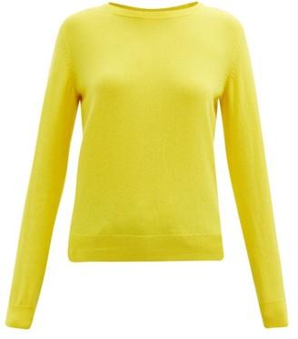 A.P.C. Nola Cashmere Sweater - Yellow