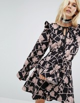 Sister Jane Ruffle Dress In Print