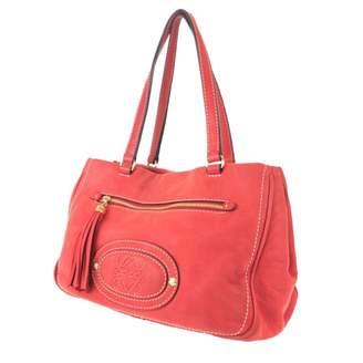 Loewe \N Red Suede Handbags