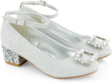 Monsoon Diamante Buckle Princess Charleston Shoes
