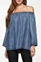 Love Stitch Lovestitch Off The Shoulder Top