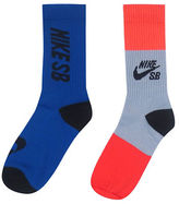 Nike Two-Pack Tall Crew Socks