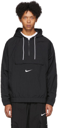 Nike Black Swoosh Pullover Jacket