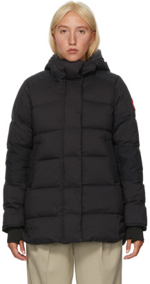 Canada Goose Black Down Alliston Jacket