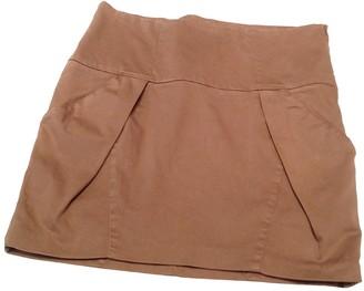 Brunello Cucinelli Brown Cotton Skirt for Women