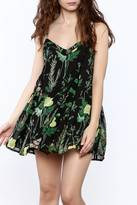 Olivaceous Floral Cami Dress