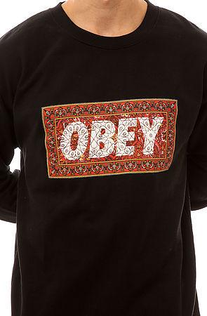 Obey The Magic Carpet Crewneck