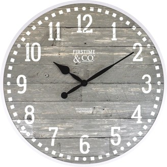 Firstime & Co. FirsTime Arlo Distressed Wall Clock