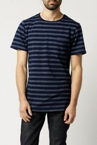 NATIVE YOUTH Jacquard Stripe Tee