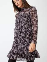 Very Pleated Swing Dress - Print