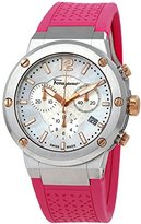 Salvatore Ferragamo Women's FIH020015 F-80 Chrono Analog Display Quartz Pink Watch
