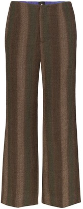 ASAI Striped Wool Trousers