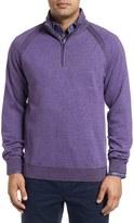 Robert Graham Men's Jovanni Wool Quarter Zip Sweater