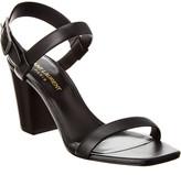Saint Laurent 75 Leather Sandal