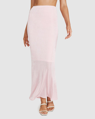 Don't Ask Amanda Dont Ask Amanda - Women's Skirts - Misty Slinky Knit Maxi Skirt - Size One Size, L at The Iconic