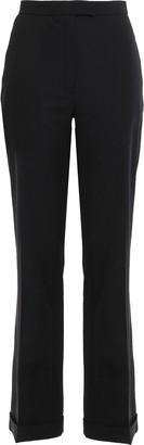 Osman Lauren Wool-blend Straight-leg Pants