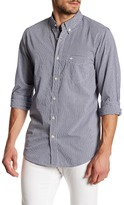 Dockers Standard Fit Long Sleeve Check Poplin Shirt
