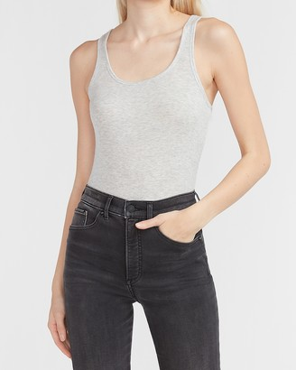 Express Ribbed Scoop Neck Tank