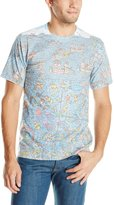 Freeze Men's Where's Waldo Map Sublimation Tee