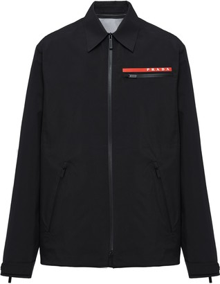 Prada technical shirt jacket