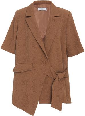 Hofmann Copenhagen Matilda Long Line Short Sleeve Blazer