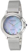 Citizen Watches EM0790-55N Ceci (Silver-Tone) Watches
