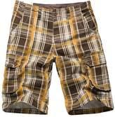 NiSeng Men's Retro Plaid Shorts - Summer Casual Cargo Multipocket Short