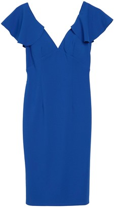 Marina Double V Bodycon Dress