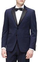 Burberry Wool Tuxedo, Navy