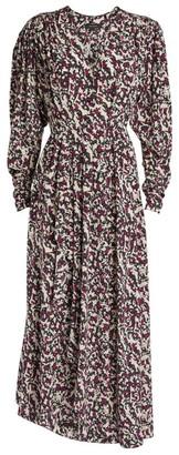 Isabel Marant Blainea Print Midi Dress