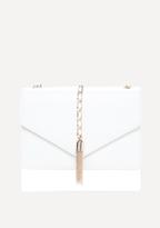 Bebe Chain Tassel Crossbody Bag