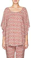 Eberjey WOMEN'S CLARA FOLKLORIC-PRINT COVER-UP TOP