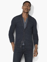 John Varvatos Shawl Collar Cardigan