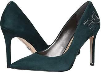 Sam Edelman Zappos 20th x Hazel (Black Kid Suede Leather) Women's Shoes
