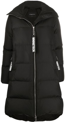 Goose Tech Long-Back Padded Coat