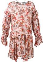 IRO floral print ruffled dress - women - Viscose - 34