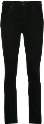 AG Jeans The Mari midi waist slim jeans