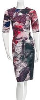 Prabal Gurung Printed Sheath Dress