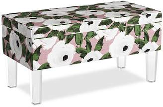'Sparrow & Wren Collins Storage Bench With Acrylic Legs - 100% Exclusive' from the web at 'https://img.shopstyle-cdn.com/sim/cd/87/cd8757424d7cbf7561a8013092912d9a_xlarge/sparrow-wren-collins-storage-bench-with-acrylic-legs-100-exclusive.jpg'