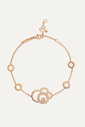 Chopard Happy Dreams 18-karat Rose Gold Diamond Bracelet