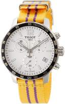 Tissot watch Quickstar CHRONOGRAPH NBA Los Angeles Lakers T0954171703705 Men's [regular imported goods]