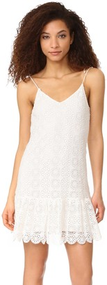 Ella Moss Women's Medallion Crochet Dress