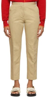 Marni Tan Crop Trousers