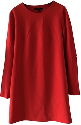Tibi Red Synthetic Dresses