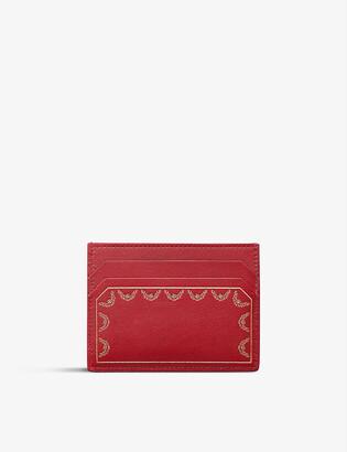 Cartier Guirlande de leather cardholder