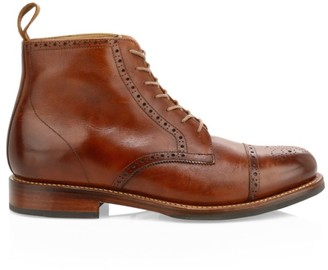 Grenson Shane Leather Brogue Boots