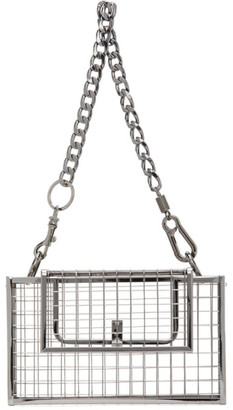 Martine Ali Gunmetal Desi Bag