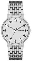 Skagen Gents Silver 'ancher' Watch Skw6200